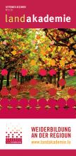 Die Herbstbroschüre 03/18 ist jetzt erhältlich